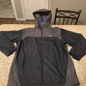 Columbia Windbreaker Jacket Size-L
